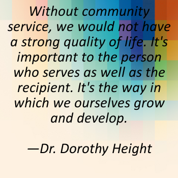 Dorothy Height quote