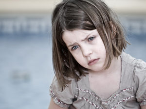 My child is really upset…How can I help to calm her down?