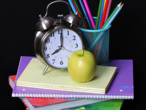 """'Twas the Night Before School"": Getting ready to go back after the break"