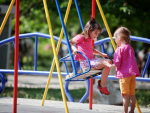 Summer Playground Fun: Pre-Teaching Children about Making Friends and Safety