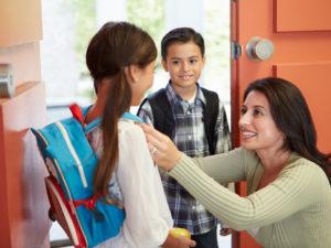 Las Rutinas para la Mañana Ayudan a que los Niños Tengan un Mejor Día Escolar