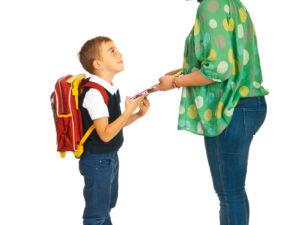 Cuando los Papás se Sienten Nerviosos Sobre el Comienzo de la Escuela