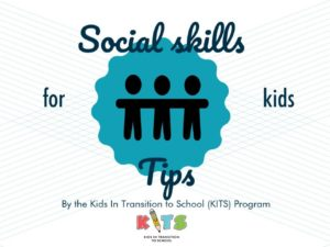 Social Skills Tips for Kids-Infographic