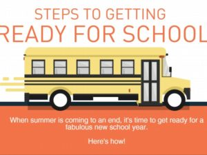 Get Ready for School!-Infographic