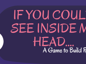 """If You Could See Inside my Head…."": A Game for Building Relationship and Resilience"