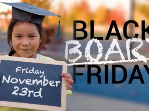 Blackboard Friday—A Black Friday Revolution!