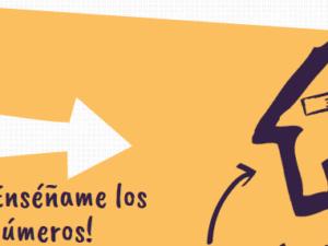 ¡Enséñame los números!-Juegos fáciles para enseñar la matemática temprana-Infographic