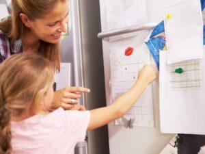 Facilite el trabajo escolar en casa con gráficos de incentivos