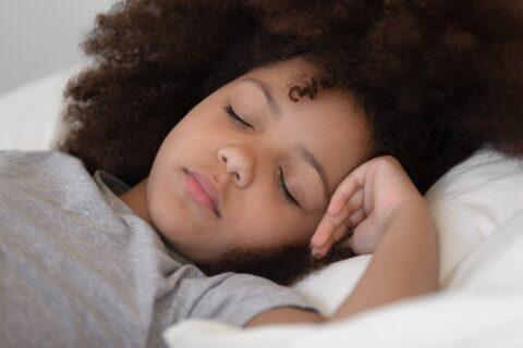 child sleeping peacefully